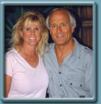 Lauri Caron and Jack Hanna at Busch Gardens